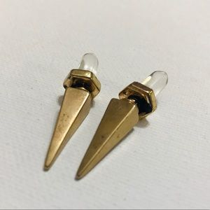 CRYSTAL AND GOLD FAUX GAUGES